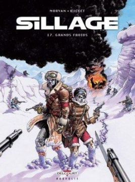 Couverture de Sillage, Tome 17 : Grands Froids