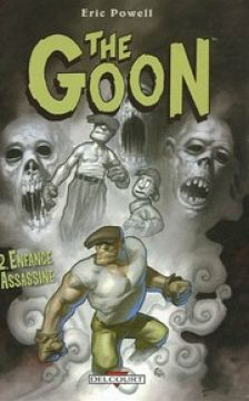 Couverture de The Goon, Tome 2 : Enfance assassine